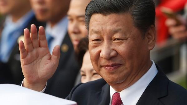 習近平除了再次宣誓了和平統一、一國兩制的方針,強調在反對台獨的基礎上,願與台灣各政黨代表溝通,商討和平統一。(法新社資料照)