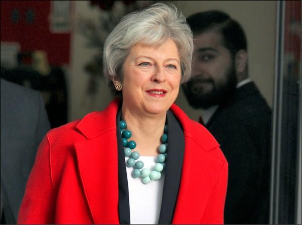 英國首相梅伊可能再次延後脫歐協議表決時程。(美聯社)
