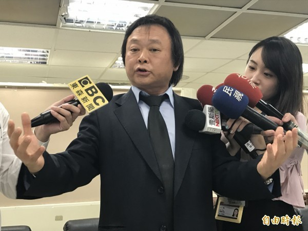 民進黨台北市議員王世堅。(資料照)