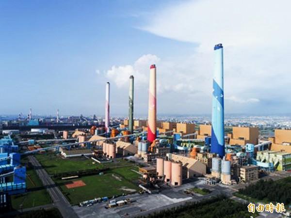 台中市政府要求台中火力發電廠4號機組除役。(台中市政府提供)
