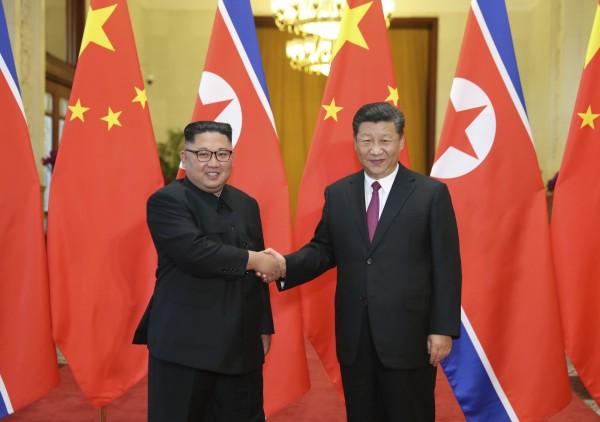 中國政府證實,北韓領導人金正恩應中國國家主席習近平的邀請,1月7日至10日展開對中國訪問。(美聯社資料照)