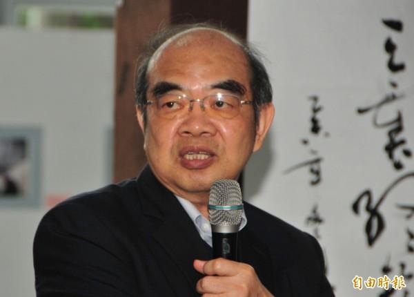 前教育部長吳茂昆被判記過一次。(資料照,記者花孟璟攝)