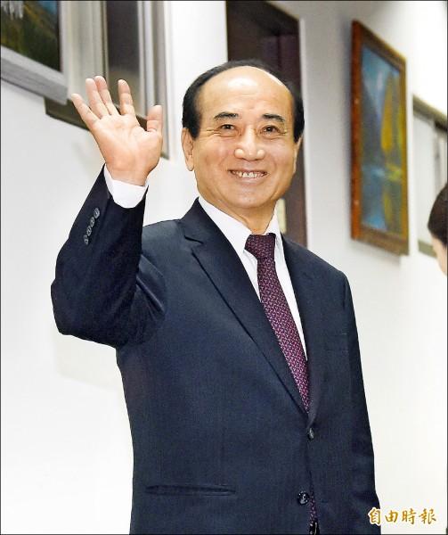 前立法院長王金平參選總統態勢漸趨明顯,王昨受訪時仍強調「等待因緣」。(記者黃耀徵攝)