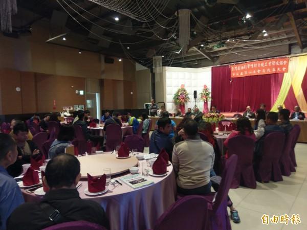 台灣柴油引擎噴射系統工業發展協會今舉辦會員大會,邀集產學界提出意見,希望政府聽到基層心聲。(記者王善嬿攝)
