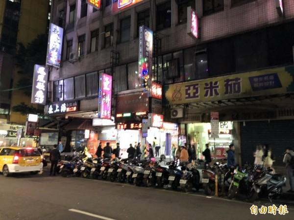 警方封鎖現場。(記者王冠仁攝)