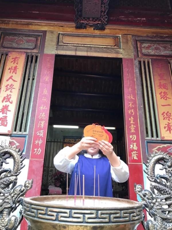 南市副市長王時思在個人臉書發文,台南沒有愛情產業,「我們只有愛情 」。(擷自臉書)
