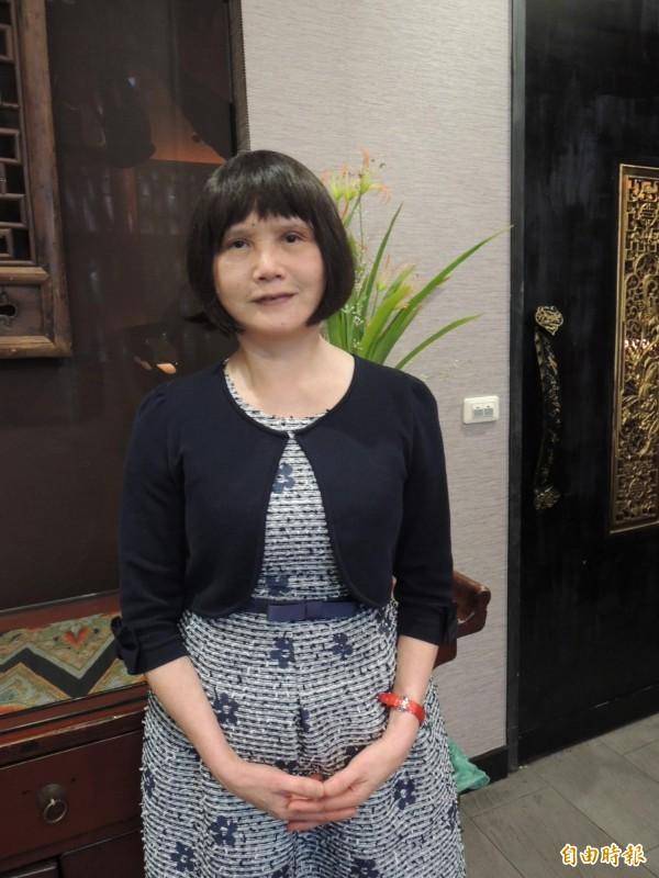 何惠玉建議政府落實親職教育,減少兒虐事件。(記者李立法攝)