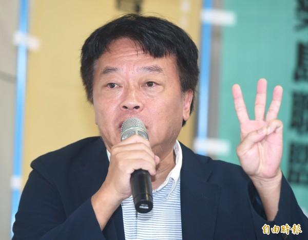 台聯黨主席劉一德。(資料照)
