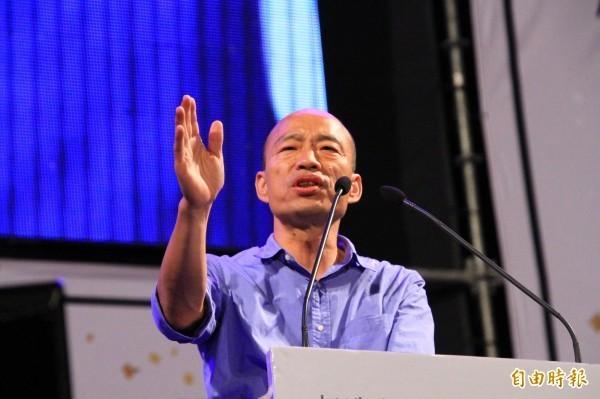 韓國瑜昨日在備詢時透露有在談「賽車」,引起民眾熱議。(資料照)