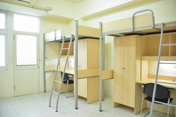 新竹市中華大學今年將斥資1.4億元進行宿舍的整建,提供學生更舒適安全的住宿環境。(照片由學校提供)