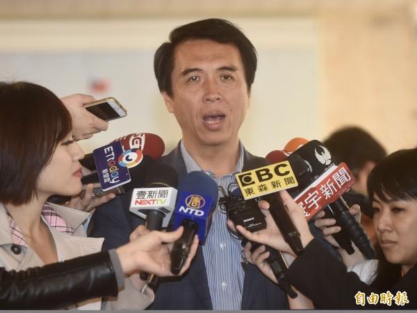 國民黨立委陳學聖。(資料照)