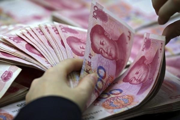 中國在貿易戰中極力維持人民幣的穩定。(美聯社)