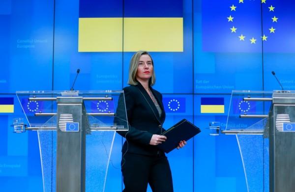 據了解,歐盟之所以會公開支持台灣出席WHA,有部分原因是中國在2018年12月強硬要求歐盟必須明確的反對「任何形式的台獨」,引起歐盟不滿。圖為歐盟外長席茉格里尼(Federica Mogherini)。(歐新社)