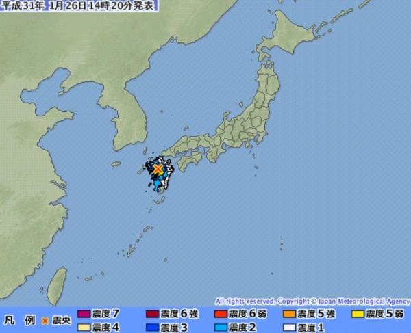 熊本 地震 震度