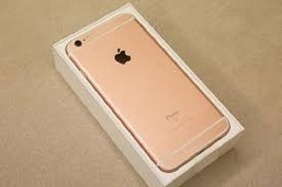 玫瑰金色Iphone手機(記者楊政郡翻攝)