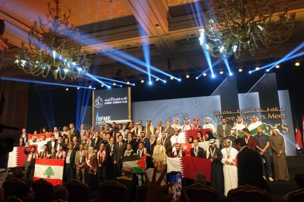 2019科威特國際發明展頒獎。(中華台北著作權人協會提供)