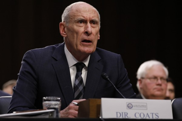 美國國家情報總監寇茲(見圖)對美國國會參議院情報委員會警示,「IS仍是中東的一個重大威脅,而且他們的領導人仍在煽動極端份子對西方發動攻擊」。(彭博)