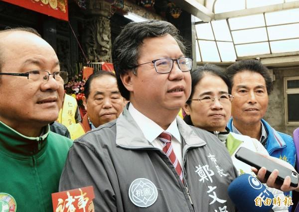 華航機師啟動罷工,桃園市長鄭文燦:盡快恢復勞資對話。(記者鄭淑婷攝)