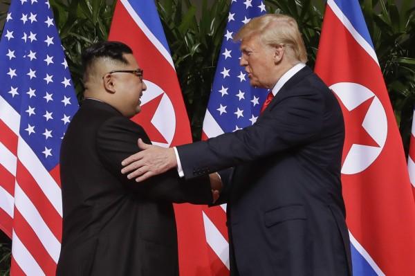 美國總統川普與北韓領導人金正恩將在本月27、28日於越南河內再度碰面。(美聯社)