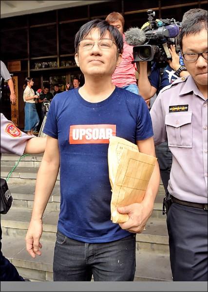 歌手江明學去年9月被查獲持有毒品,昨獲判緩起訴1年。(資料照)