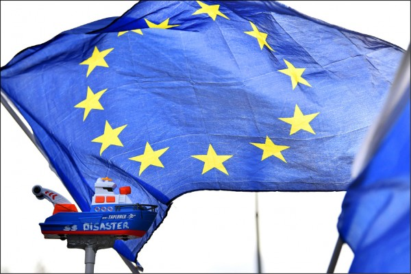 中國駭客團體竊取歐美商業機密,歐盟商討反制動作,包括制裁中國、發布聯合警告。(法新社)