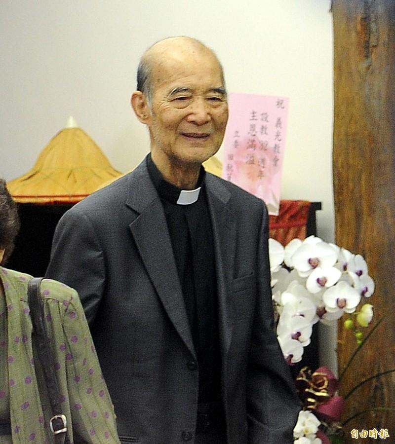 長老教會牧師高俊明今日下午5點25分,在位於台南民權路的YMCA德輝苑臨安養護中心蒙主恩召。(資料照,記者方賓照攝)