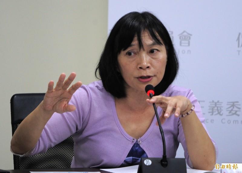 促轉會代理主委楊翠表示,促轉會未來每個月都會在中正紀念堂舉辦轉型正義等論壇。(資料照)