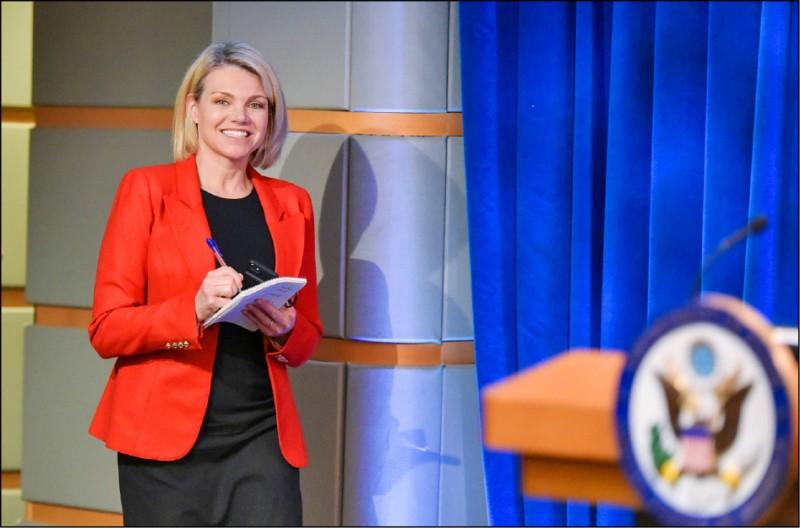 前福斯新聞主播諾爾特(Heather Nauert)宣布退出被考慮提名出任美國駐聯合國大使。(法新社檔案照)