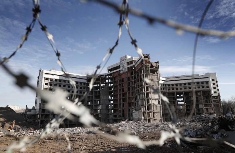 南韓YouTube到光州廢棄醫院探險,卻發現了腐爛遺體。廢棄醫院示意圖。(歐新社)