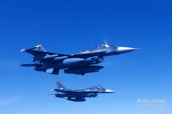 日本F2戰機示意圖。(擷取自JASDF航空自衛隊)