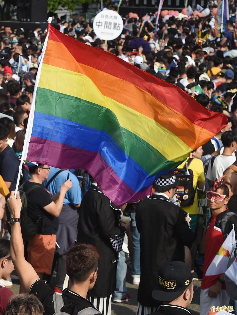 台灣即將成為亞洲第一個同性婚姻合法國家,週邊產業也蓄勢待發,除了在台逐漸成熟的的婚宴商機,旅遊產業也持續觀察同志族群市場需求。(資料照,記者廖振輝攝)