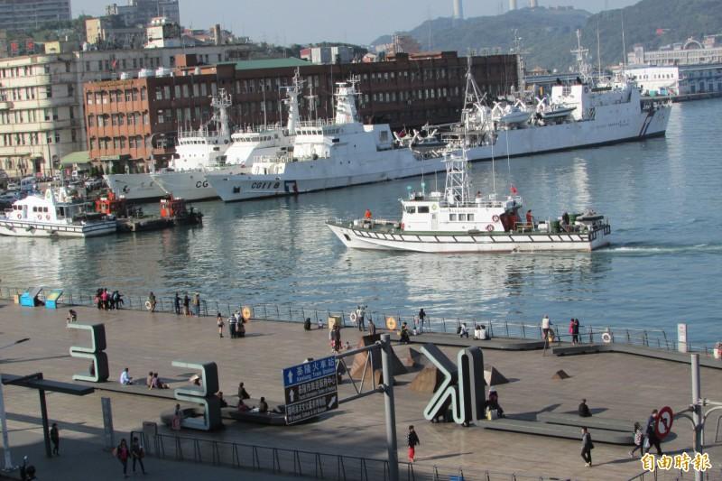 基隆港規劃水上計程車,推展海陸旅遊(記者盧賢秀攝)