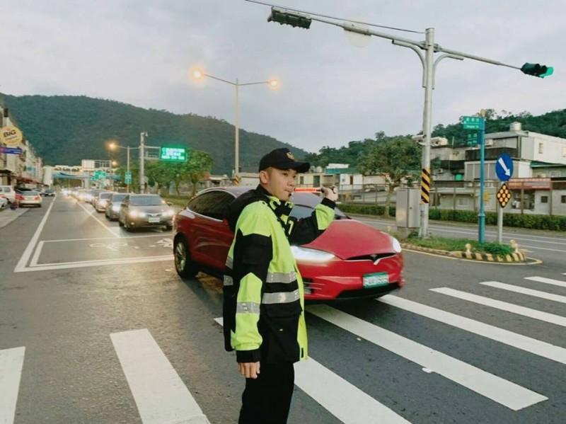 228連假期間,蘇花改交通面臨大考驗,警方成立交通快打嚴陣以待。(資料照,圖由警方提供)