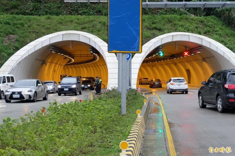 228連假,蘇花改面臨另一波交通考驗,圖為蘇澳隧道。(資料照,記者江志雄攝)