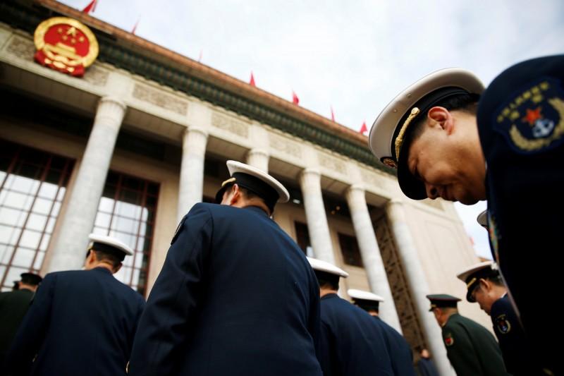 中國兩會將開,北京維穩如臨大敵。(資料照,路透)