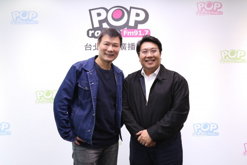 黃向羣接受《POP大國民》專訪。(《POP大國民》提供)
