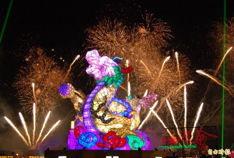 2012台灣燈會在彰化鹿港小鎮舉行。(資料照)