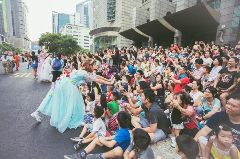 北北基將針對六大文化政策合作,圖為新北市政府年度活動兒童藝術節。(新北市政府文化局提供)