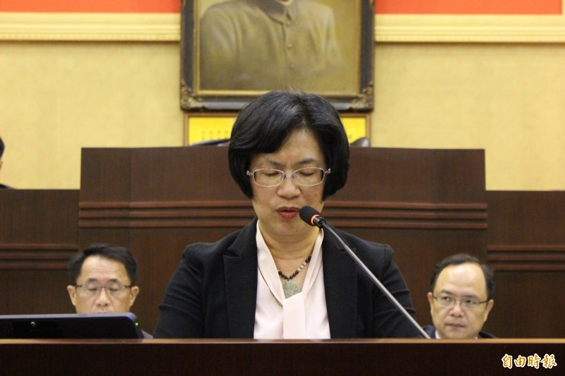 明年台灣燈會彰化棄權讓給台中,縣長王惠美說是因為籌劃時間太倉促,怕有閃失,辦不好反而會被罵。(記者張聰秋攝)