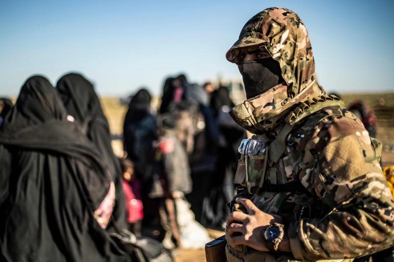 IS在敘利亞最後據點被SDF攻破,大量人質獲救。(法新社)