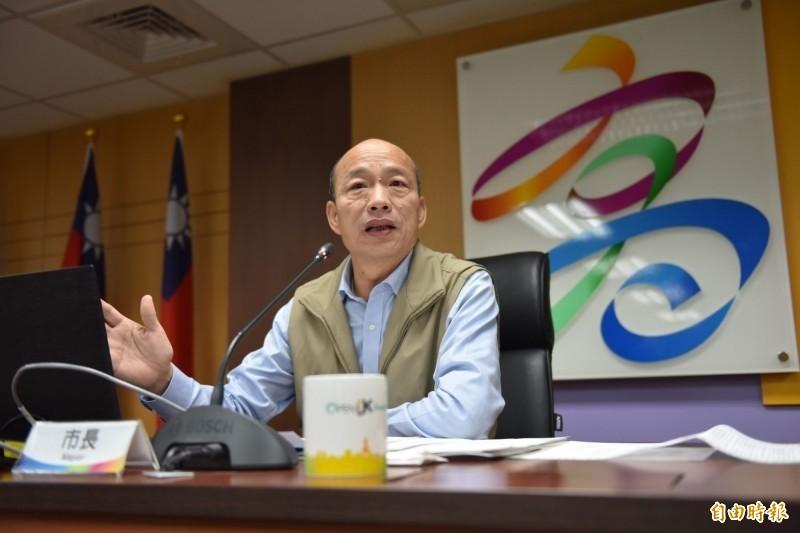 王浩宇爆料,韓國瑜在北農期間每天幾乎都有喝酒,爆料內容的真實性引發爭議,對此,王浩宇強調,「消息來源的可信度高達百分之百」。(資料照)