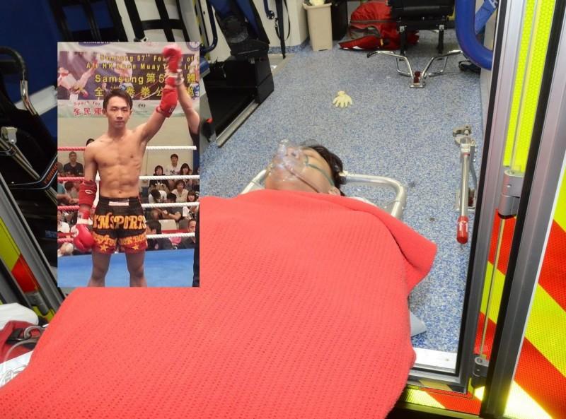 泰拳高手王康達香港街頭遭斬雙腳,香港警方對黑幫大掃蕩。(香港《星島日報》)