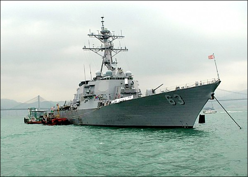 美軍作戰艦史塔森號。(圖擷自美國海軍網站)