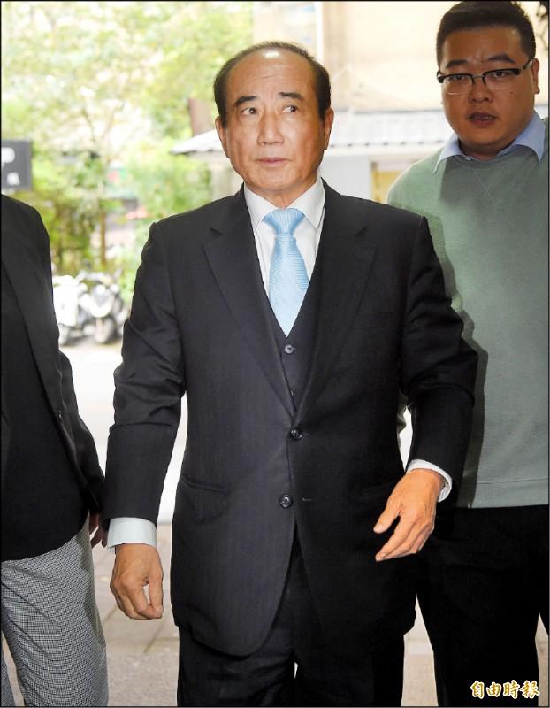 國民黨立委王金平今宣布參選。(記者黃耀徵攝)