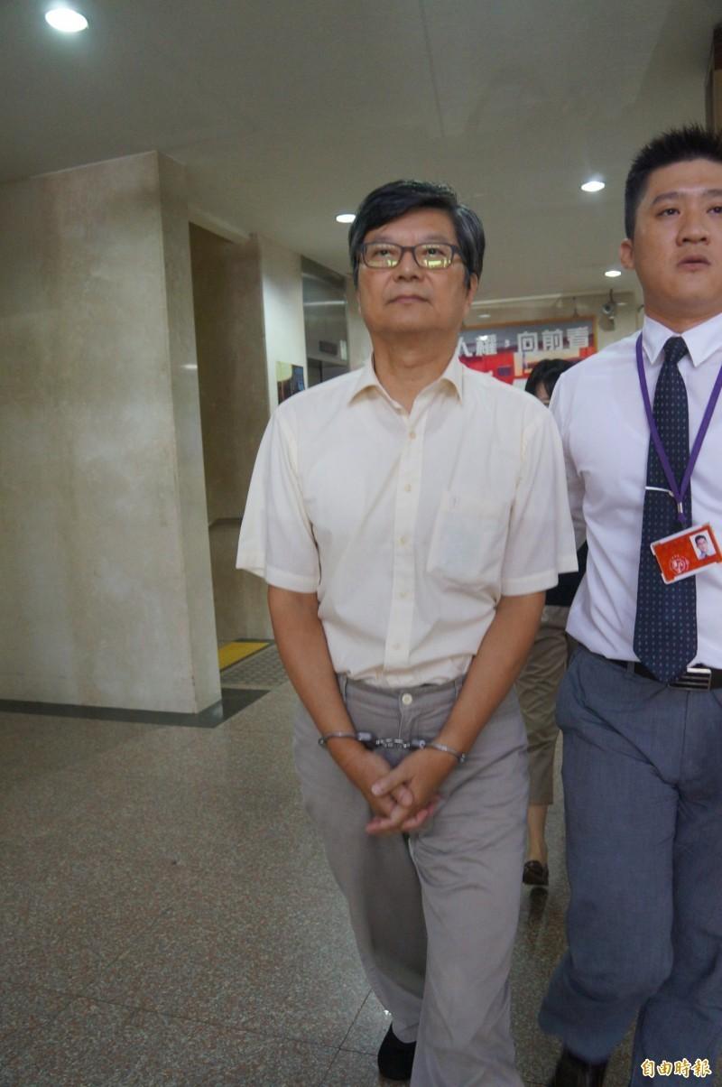 前新北市副市長許志堅收受廠商名錶、金條,被法院判刑10年定讞。(資料照)