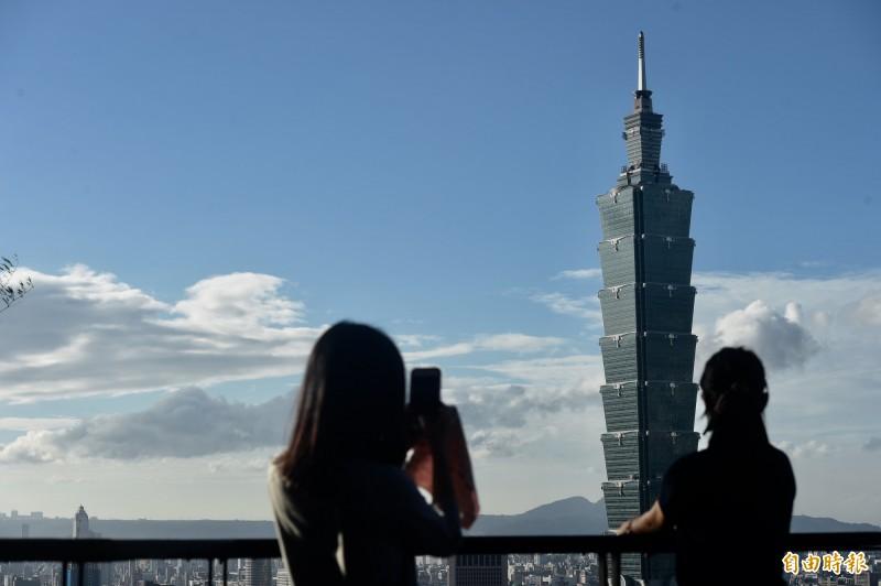 台北有錢人超多,排名全球第8。(資料照)
