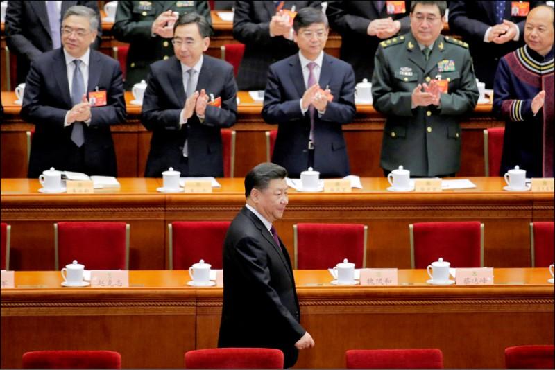 為落實「習五條」,中國在「兩會」後,將廣邀台灣政黨、團體、學者與青年等,就「一國兩制台灣方案」進行「民主協商」。(路透)