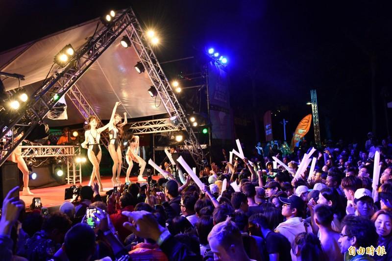 「夏都春宴」成今年墾丁音樂季唯一場次。(資料照,記者蔡宗憲攝)