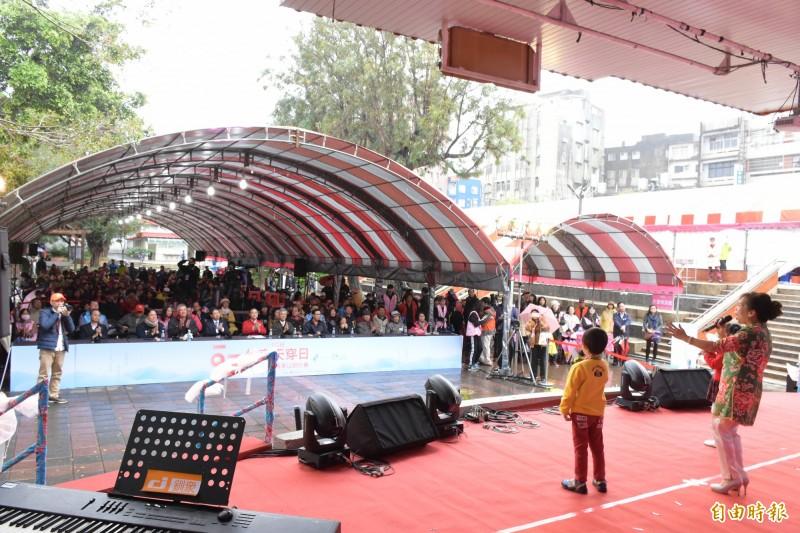 竹東天穿日台灣客家山歌比賽傳唱逾半世紀,竹東鎮公所提案爭取登錄為無形文化資產。(記者廖雪茹攝)