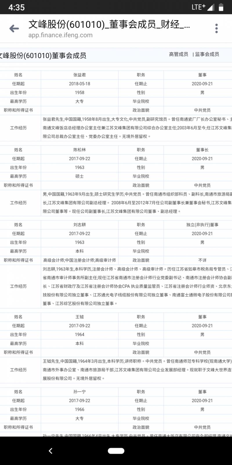 網友指出,江蘇文峰集團的成員多半是中共黨員,直指這家公司就是中國共產黨黨營企業。(圖擷取自PTT)